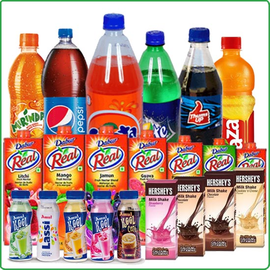 Soft Drinks, Juices, Shakes