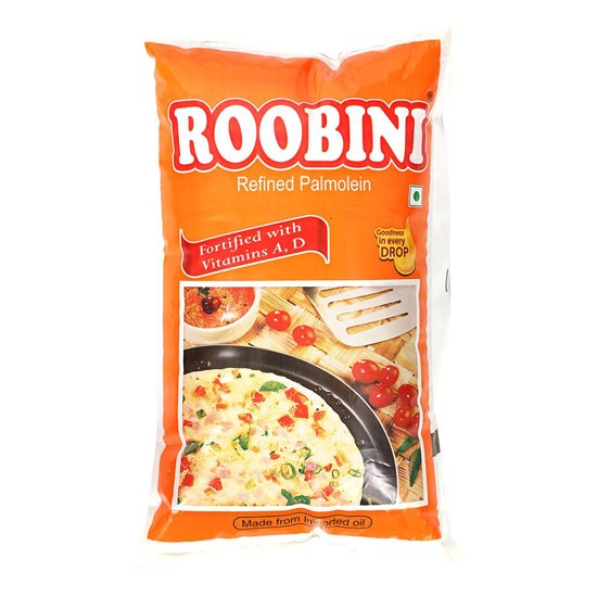 ROOBINI Refined Palm Oil Pouch
