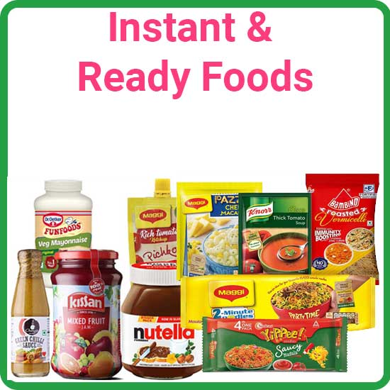 Instant & Ready Foods