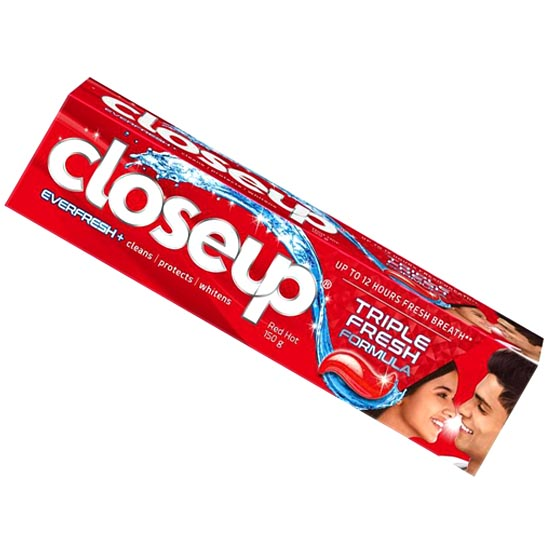 Close Up Everfresh + Anti-Germ Gel Toothpaste - Red Hot, 150 g